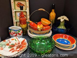 Box Lot Fiesta! Serving Platter
