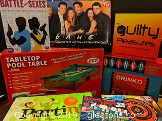 "Box Lot ""Adult Game Night"""
