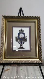 Nice Custom Framed Print/Italian Cherub  Wall Art