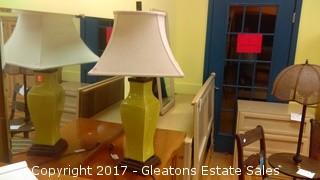 MUSTARD COLOR LAMP