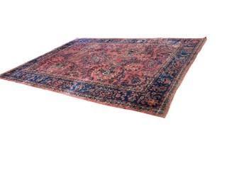 Persian Wool Rug, 9x13'