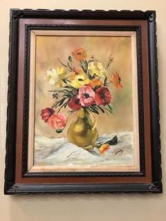 Oil on Canvas, G. Hoag