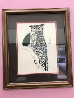 Pen and Ink Lithograph, Stephanie Barry