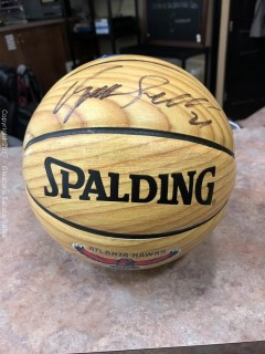 Dominique Wilkins Autographed Basketball