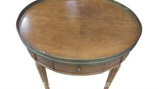 PRESIDENTIAL ROUND SIDE TABLE