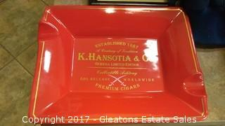 GURKHA LIMITED EDITION COLLECTIBLE ASHTRAY