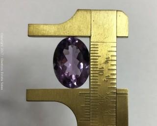 Amethyst, Oval 18mm x 13mm