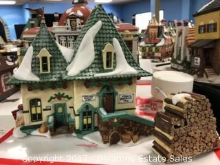 Christmas Village Elsie's Gingerbread Shoppe