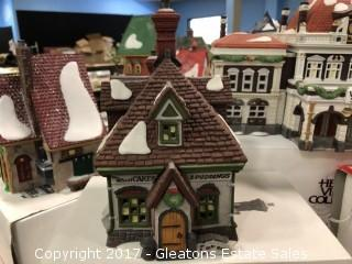Christmas Village WM Wheat Cakes and Puddings